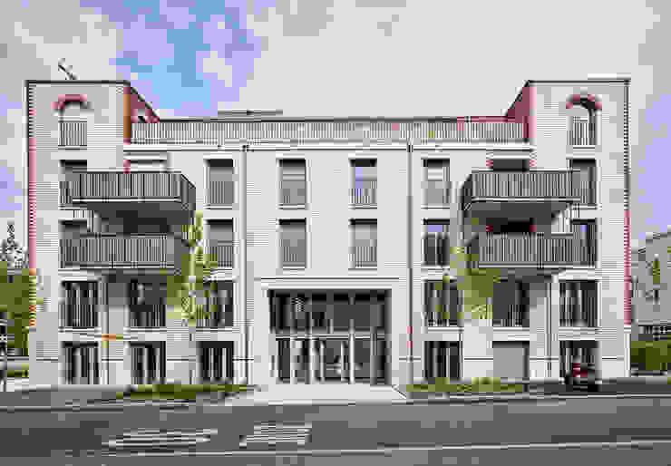 Westfassade Moderne Häuser von Käferstein & Meister Dipl. Architekten ETH BSA SIA Modern