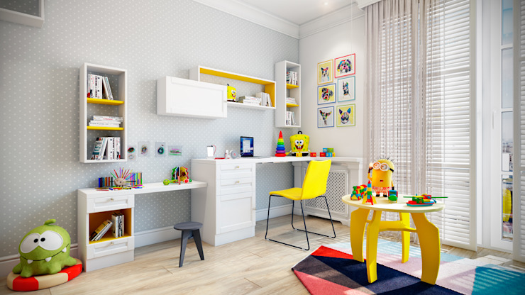 Nursery/kid's room by CO:interior, Scandinavian