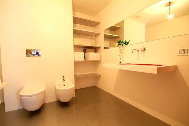 LF&Partners Minimalist style bathrooms