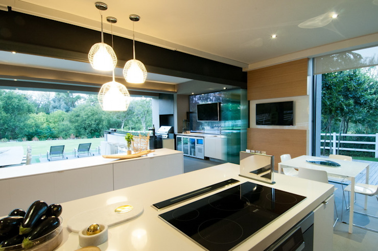 House in Blair Atholl Nico Van Der Meulen Architects Kitchen