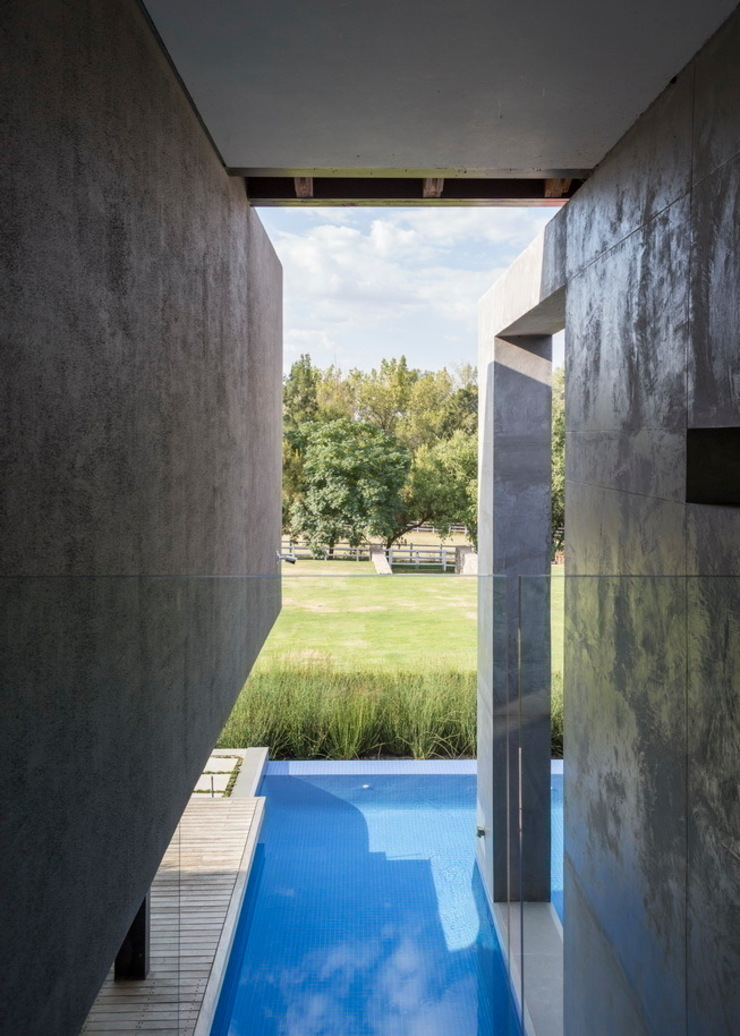 House in Blair Atholl Nico Van Der Meulen Architects Moderne Pools