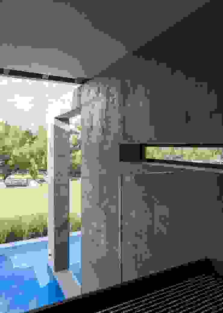 House in Blair Atholl Nico Van Der Meulen Architects Moderne Wände & Böden