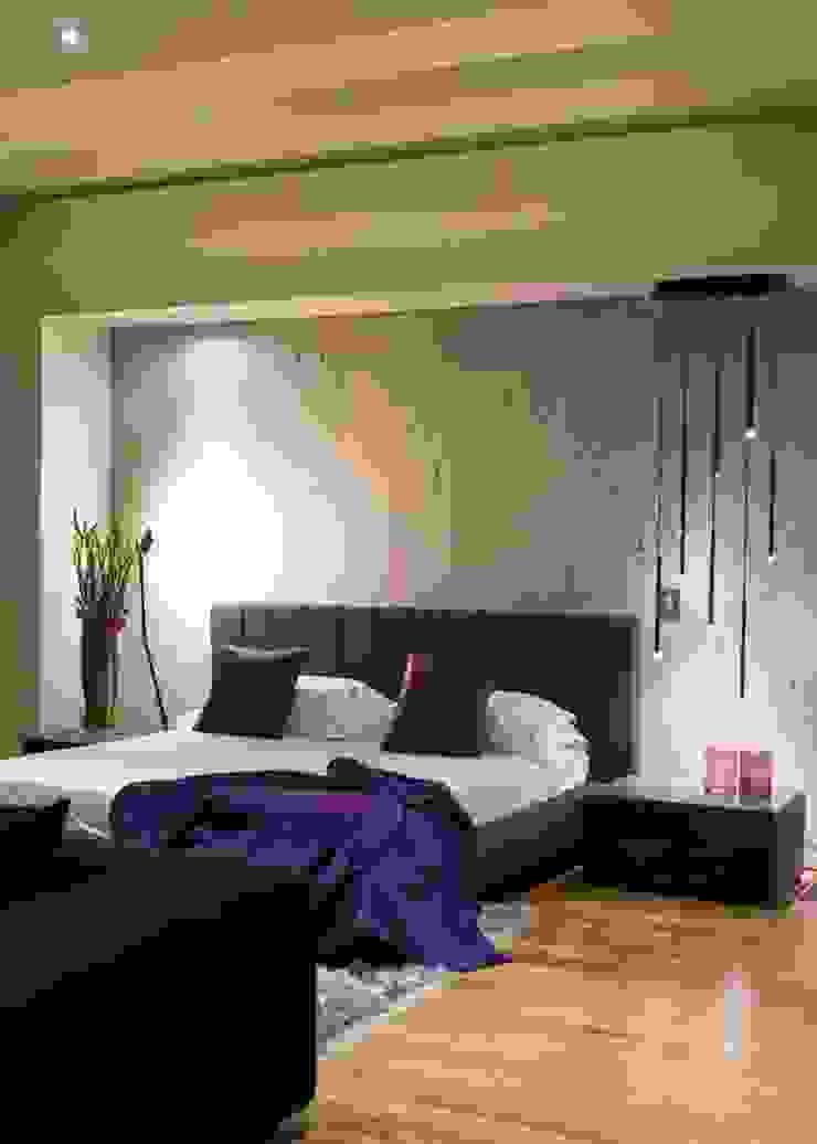 House in Blair Atholl Nico Van Der Meulen Architects Moderne Schlafzimmer