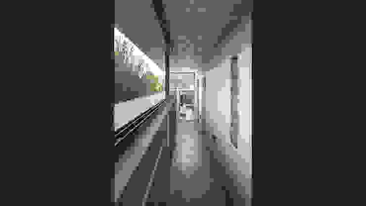 CASA WEIN Pasillos, vestíbulos y escaleras modernos de Besonías Almeida arquitectos Moderno