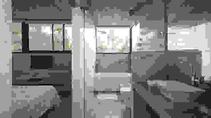 Salle de bains de style  par Besonías Almeida arquitectos, Moderne
