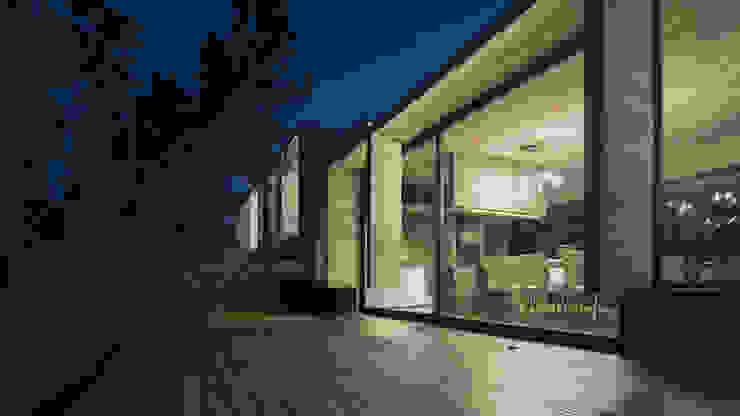 CASA WEIN Puertas y ventanas modernas de Besonías Almeida arquitectos Moderno