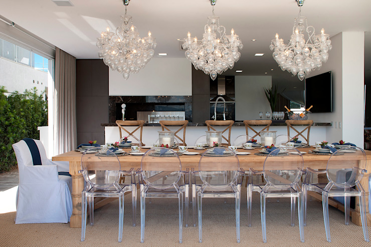 Столовая комната в классическом стиле от Luciano Teston Классический