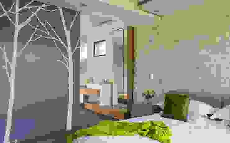 House in Blair Atholl Dormitorios de estilo moderno de Nico Van Der Meulen Architects Moderno