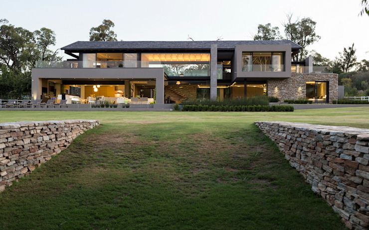 House in Blair Atholl Nico Van Der Meulen Architects Modern Evler