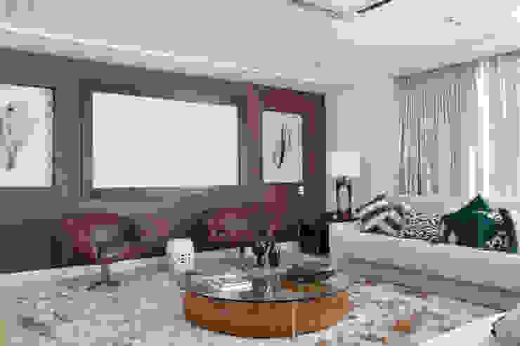 Гостиная в . Автор – Ana Adriano Design de Interiores, Модерн