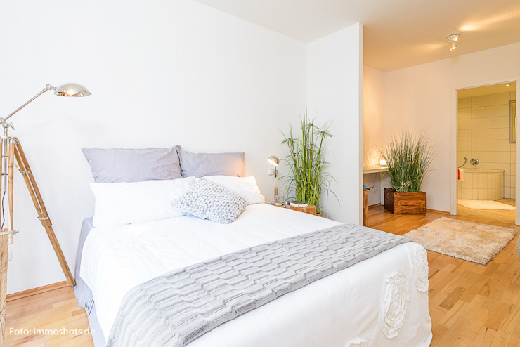 Home Staging. Schlafzimmer von Immotionelles