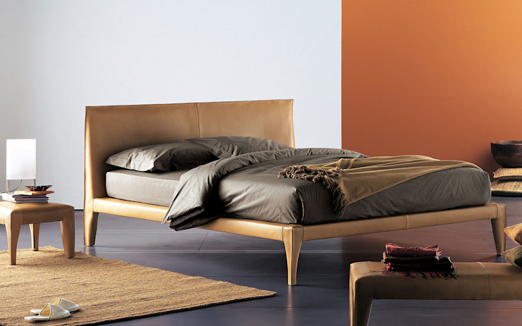 Alicudi Bed by Flou: modern  by Campbell Watson, Modern