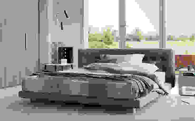 Doze Bed by Flou: modern  by Campbell Watson, Modern