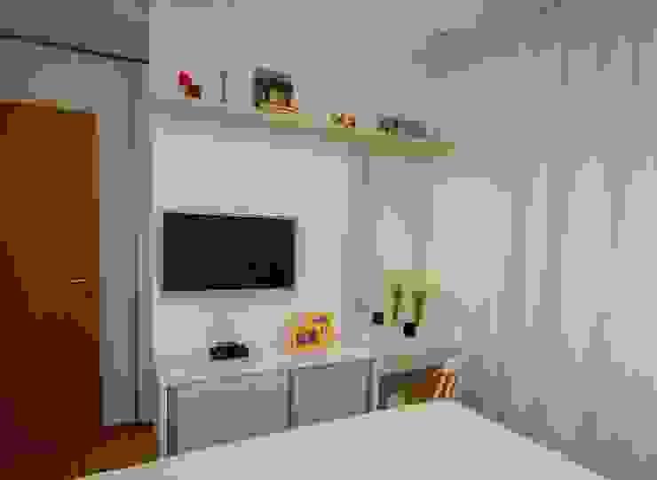 Apartamento Tamboré Quartos modernos por Le Haus - Arquitetura +Design Moderno