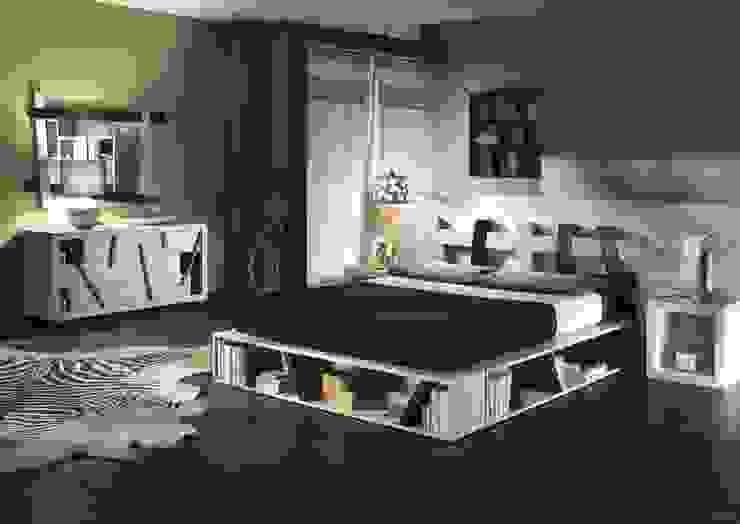 Спальная комната  в . Автор – Negozio del Giunco,