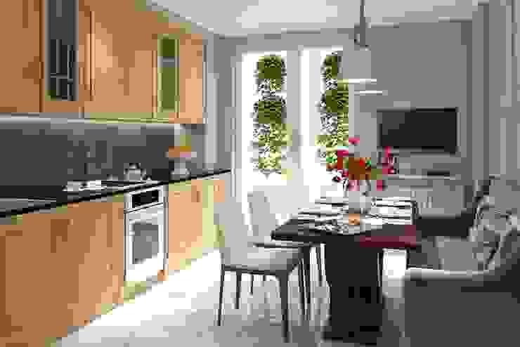 Квартира Шуваловский проспект. Кухня в классическом стиле от Ivory Studio Классический