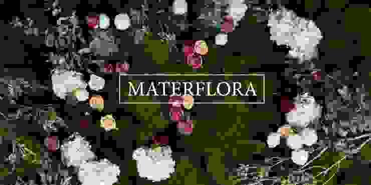 Rustic Floral Wall by Materflora de Materflora Lda. Rústico