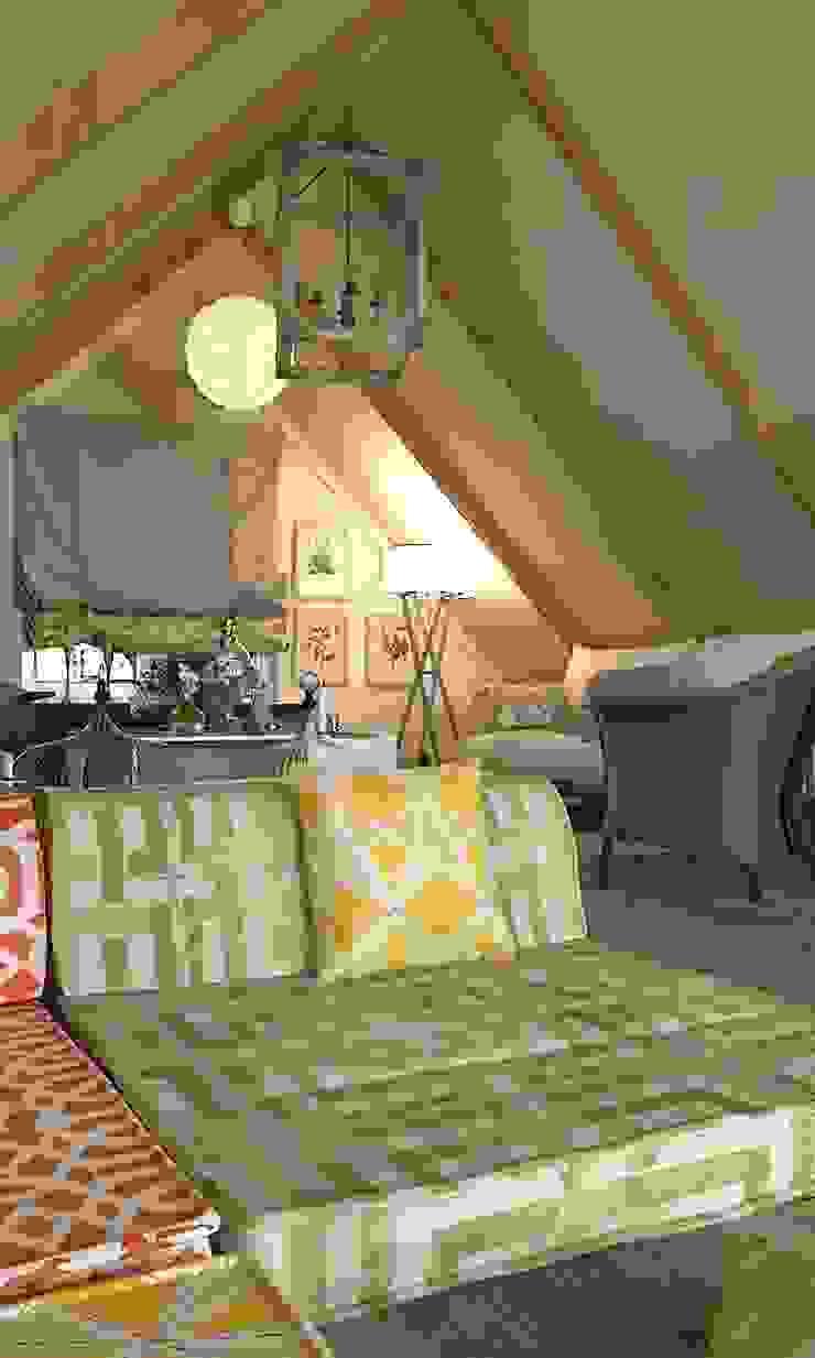 мансарда с террасой – attic with terrace Балконы и веранды в эклектичном стиле от AnARCHI Эклектичный