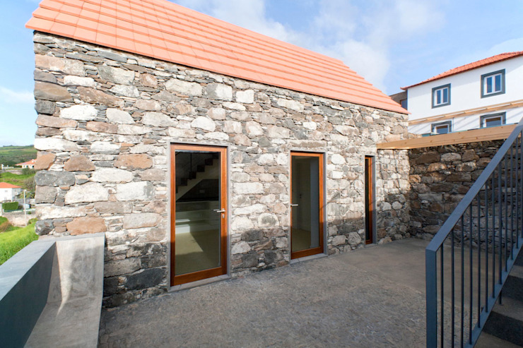 Turismo rural Casas da Vereda Casas rústicas por Mayer & Selders Arquitectura Rústico