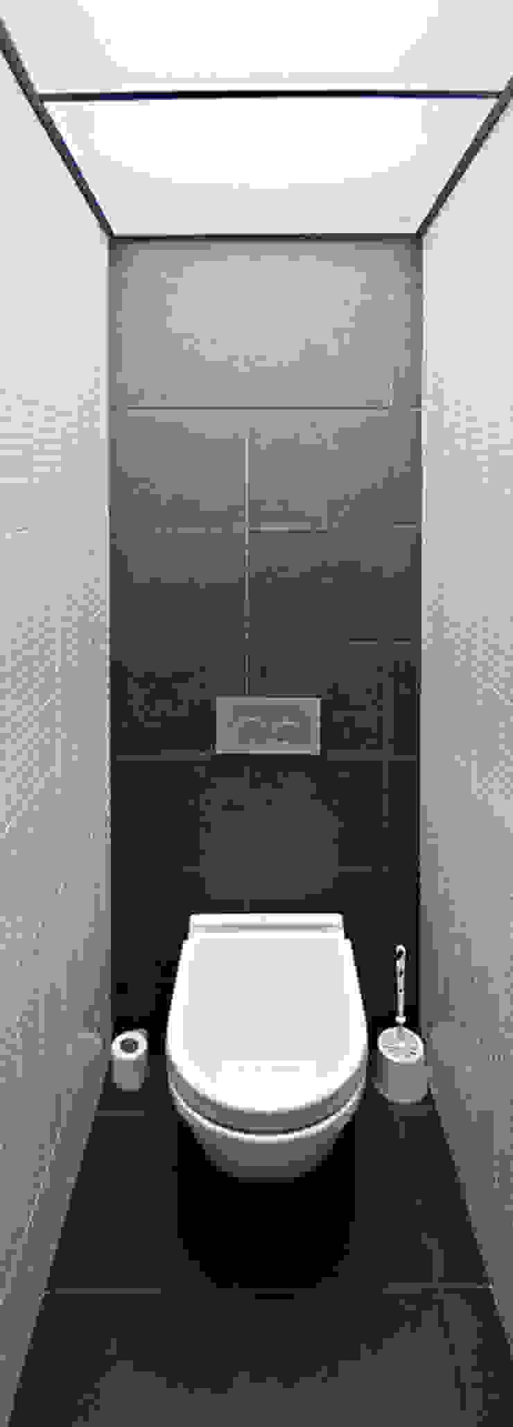 туалет Ванная комната в стиле минимализм от artemuma - архитектурное бюро Минимализм