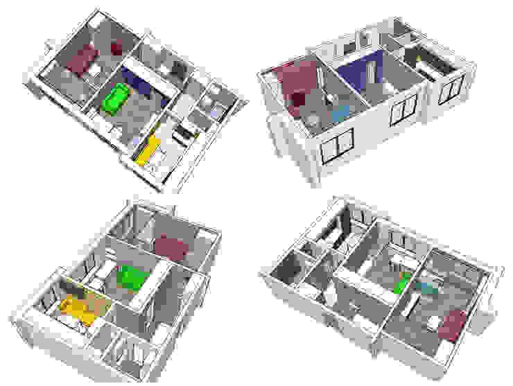 концепция:  в современный. Автор – artemuma - архитектурное бюро, Модерн