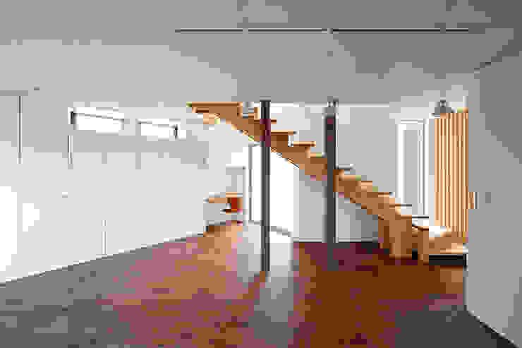 いれこ モダンスタイルの 玄関&廊下&階段 の +0 atelier | プラスゼロアトリエ モダン
