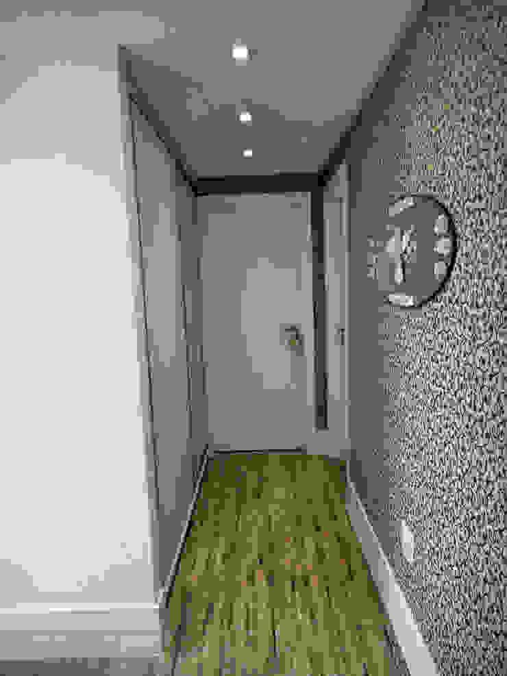 Projeto Residencial em Itapema, SC-BR Corredores, halls e escadas ecléticos por Gabriela Herde Arquitetura & Design Eclético