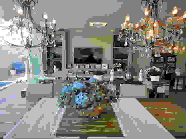 Projeto Residencial em Itapema, SC-BR: Salas de jantar  por Gabriela Herde Arquitetura & Design,