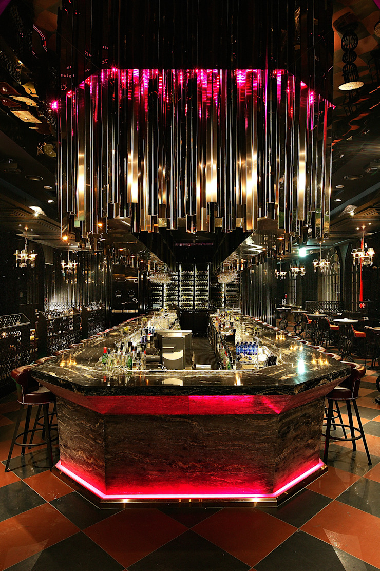 DISTRICT_Glam(Lounge) 모던 스타일 바 & 클럽 by CHIHO&PARTNERS 모던