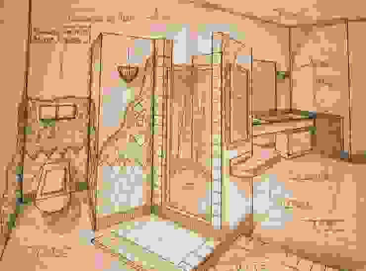 Bagno Padronale di Interior Design Stefano Bergami