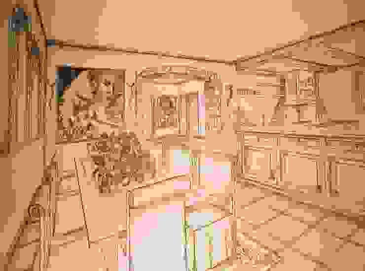 Sala Pranzo di Interior Design Stefano Bergami