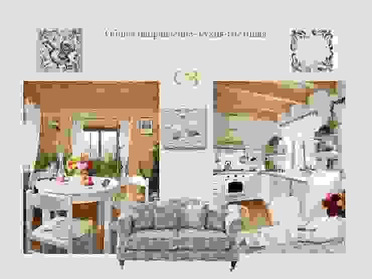 Кухня-столовая от Мастерская дизайна ЭГО