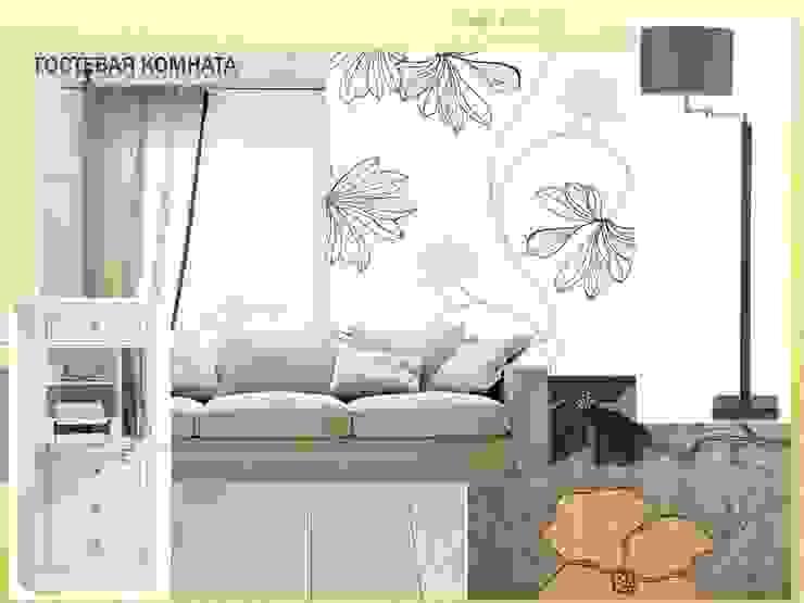 Гостевая комната от Мастерская дизайна ЭГО