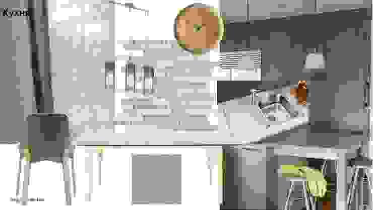 Кухня от Мастерская дизайна ЭГО