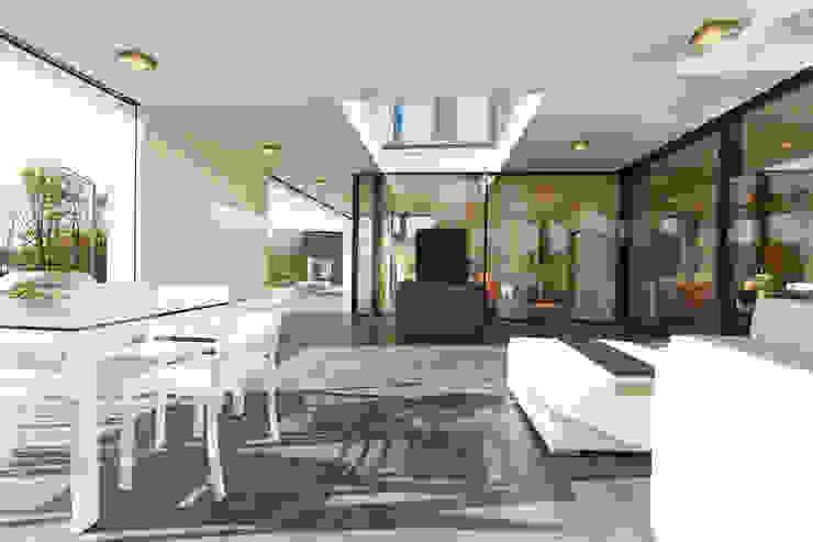 Balcones y terrazas modernos: Ideas, imágenes y decoración de OKAL Haus GmbH Moderno