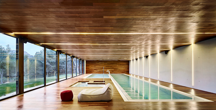 Modern spa by homify Modern