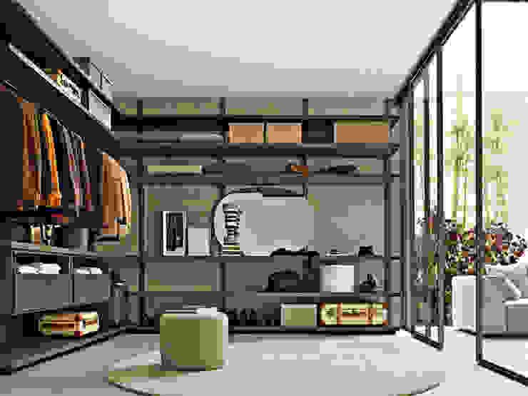 Gliss Walk In Wardrobe by Molteni & C: modern  by Campbell Watson, Modern