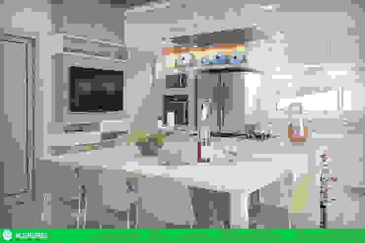 Cozinha Cozinhas modernas por studio vtx Moderno