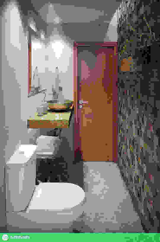 Lavabo Banheiros tropicais por studio vtx Tropical