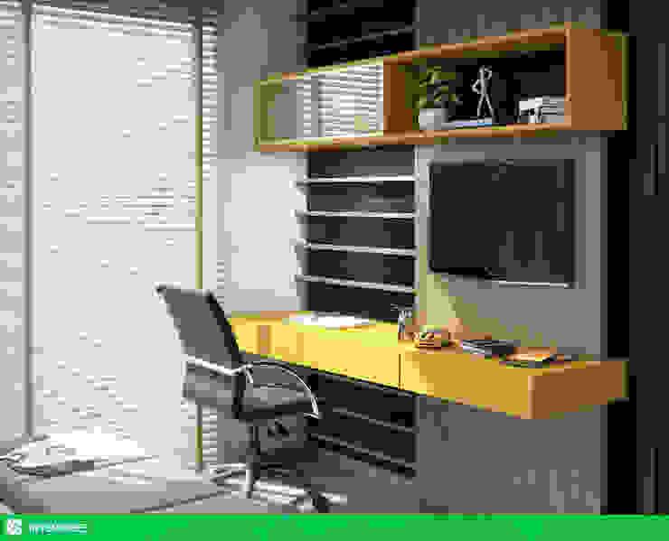 studio vtx Dormitorios de estilo moderno