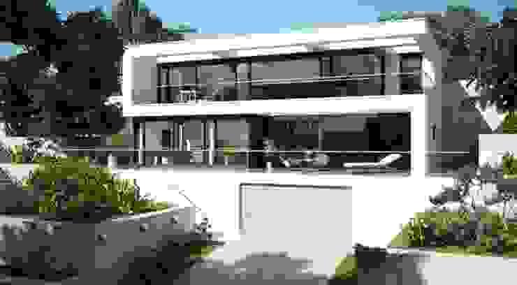 Hausentwurf Villa Im Bauhausstil Homify