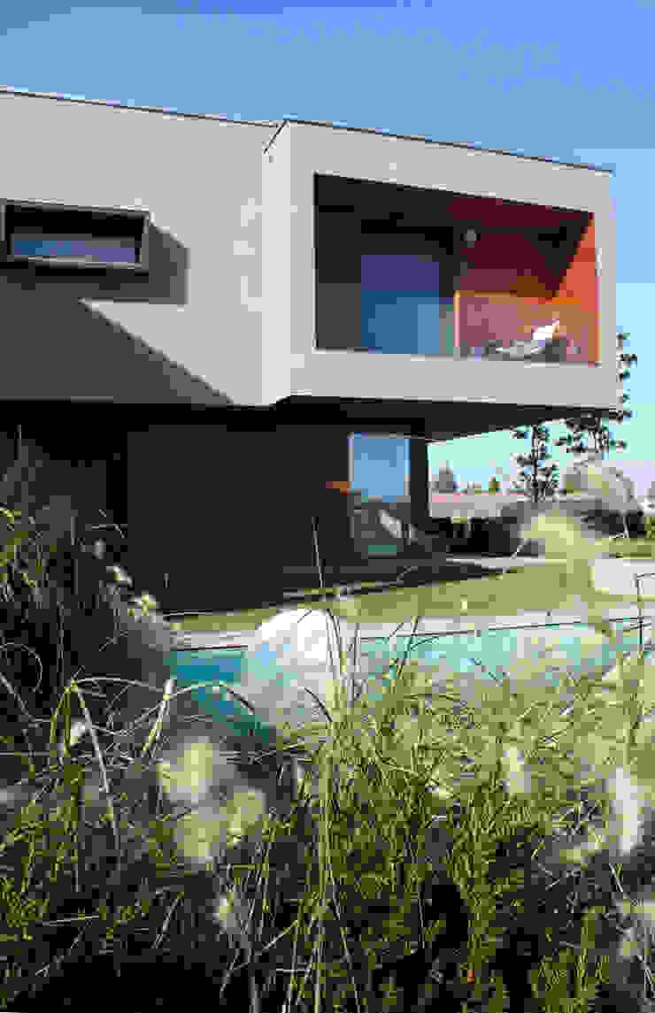 Villa moderna in legno di Marlegno Moderno Legno Effetto legno