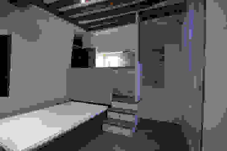 Studio malin de 17m2 Salon moderne par atelier instant t Moderne