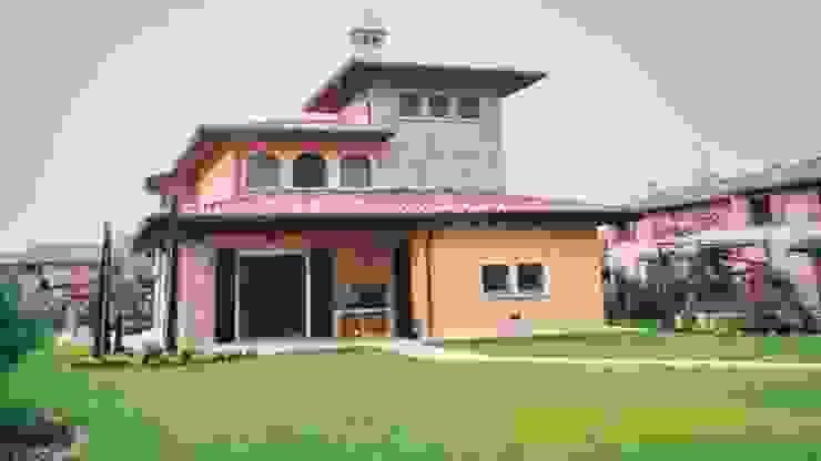 Progettazione villa a Castenedolo Case moderne di Geometra Toselli Luciano Moderno