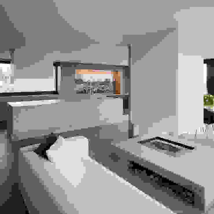 Haus Seesicht I Moderne Wohnzimmer von Blue Architects Modern