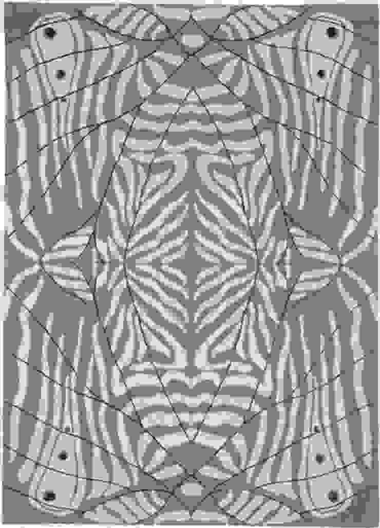 Deirdre Dyson LEPKE (FROST) hand knotted wool and silk rug Deirdre Dyson Carpets Ltd Walls & flooringCarpets & rugs