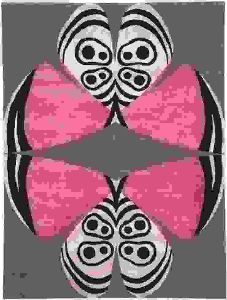 Deirdre Dyson PALOMA hand knotted wool and silk rug Deirdre Dyson Carpets Ltd Walls & flooringCarpets & rugs