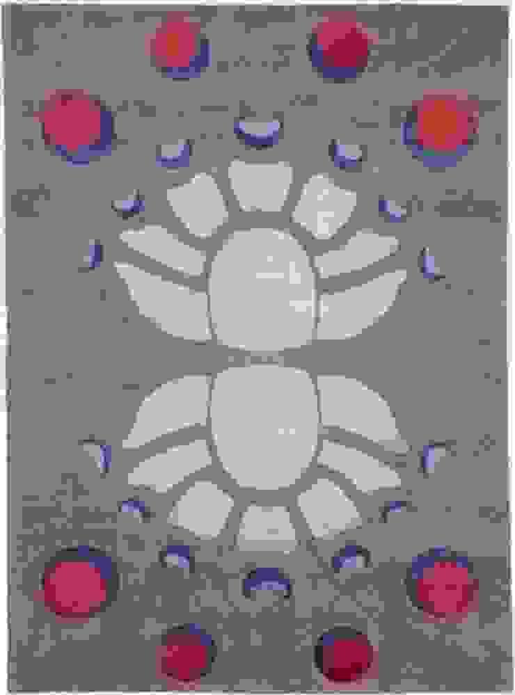 Deirdre Dyson PUTALI hand knotted wool and silk rug Deirdre Dyson Carpets Ltd Walls & flooringCarpets & rugs