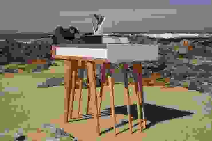 Mesa Auxiliar Nécora de JUAN ARES Marine Design Ecléctico