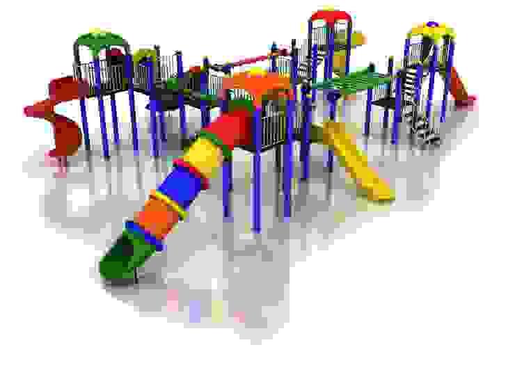 Espaços comerciais escandinavos por keban çocuk oyun parkları san tic Escandinavo